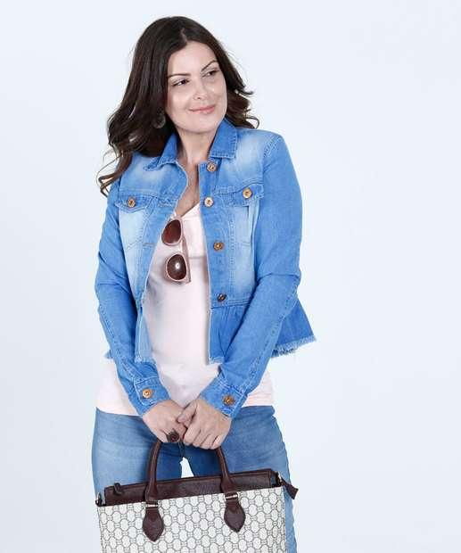 Image_Jaqueta Feminina Jeans Babado Bolso Biotipo