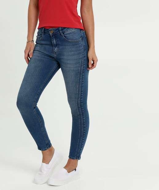 Image_Calça Feminina Jeans Stretch Cigarrete Marisa