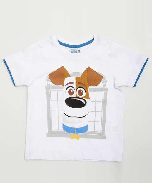 Image_Camiseta Infantil Estampa Frontal Max Manga Curta Universal