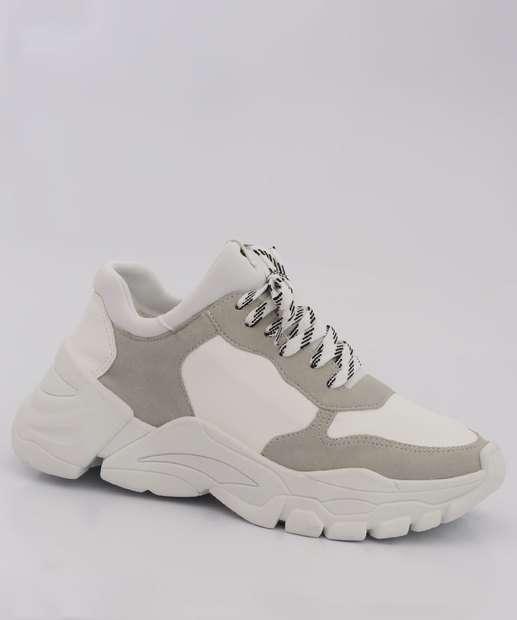 Image_Tênis Feminino Chunky Sneaker Recorte