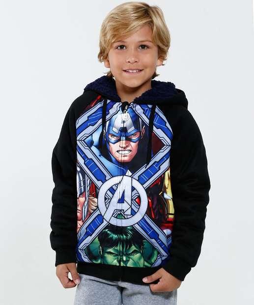 Image_Casaco Infantil Moletom Estampa Os Vingadores Mavel