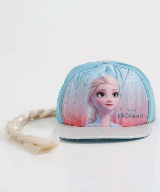 Image_Boné Infantil Estampa Frozen Glitter Disney