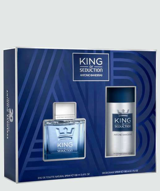Image_Kit Masculino Perfume e Desodorante King Of Seduction Antonio Banderas