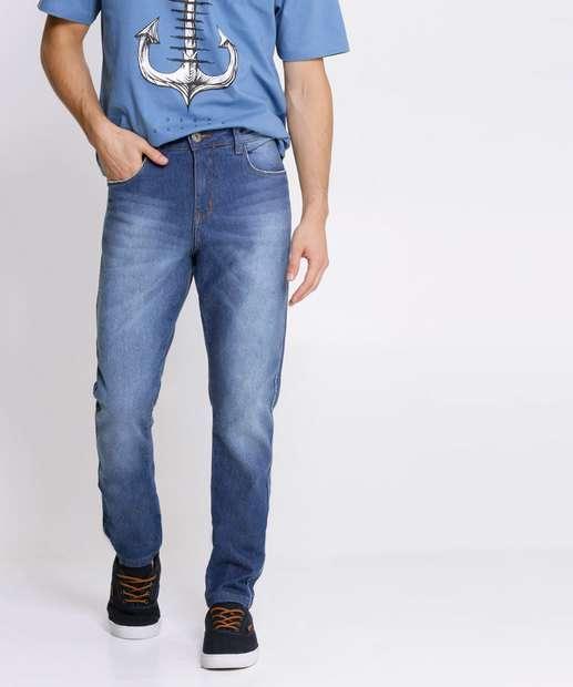 Image_Calça Masculina Jeans Slim Bolsos Razon