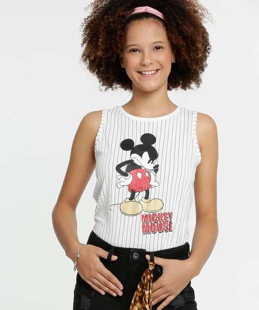 Image_Regata Juvenil Listrada Estampa Mickey Disney