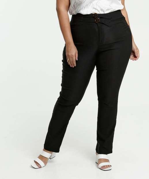 Image_Calça Feminina Bengaline Skinny Plus Size Gups