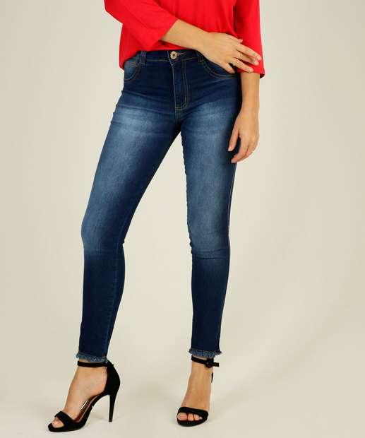 Image_Calça Jeans Skinny Feminina Barra Desfiada Biotipo