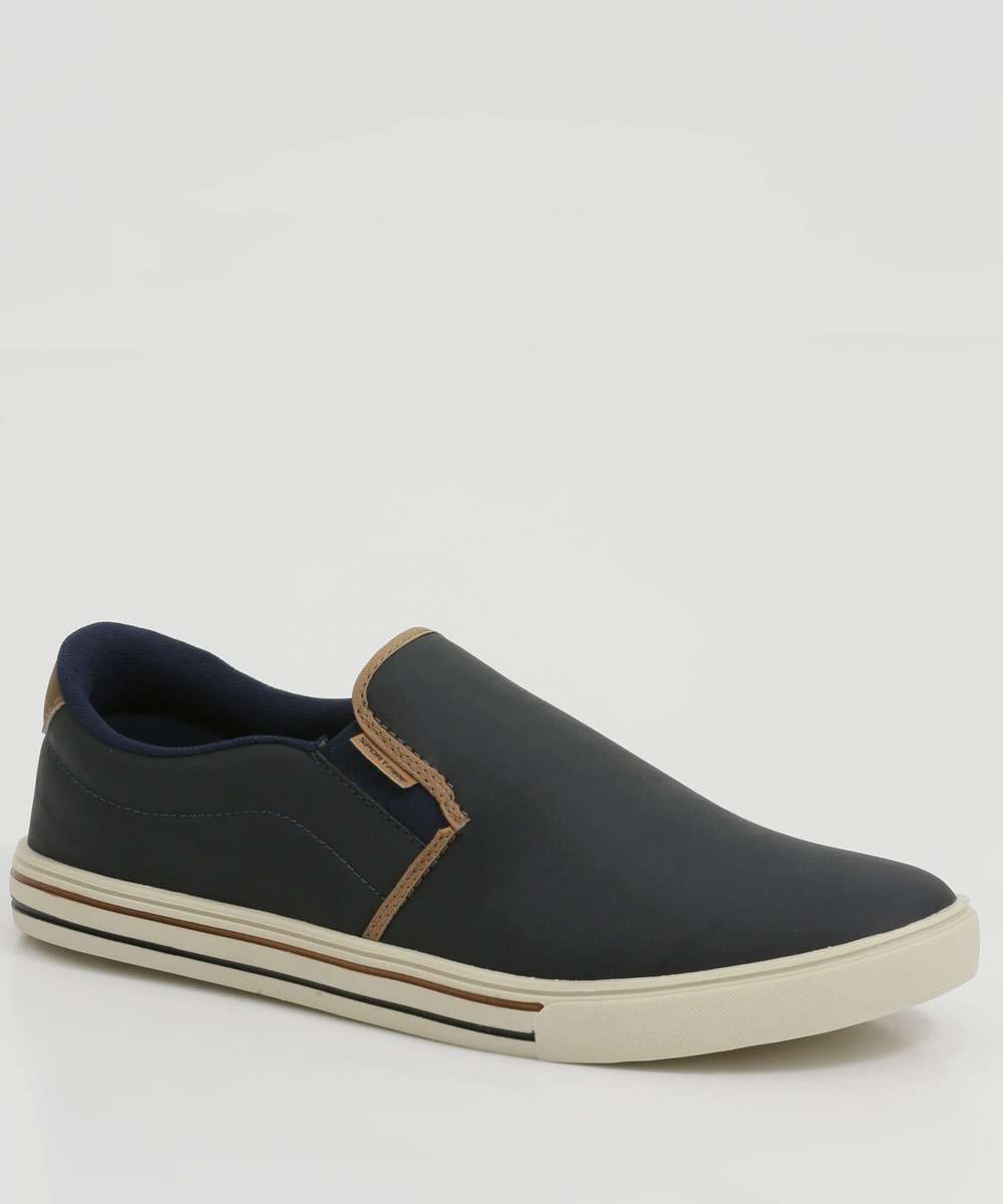 Tênis Masculino Casual Slip On Sport Fire