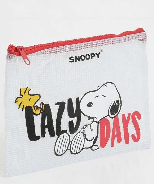 Image_Necessaire Feminina Estampada Snoopy