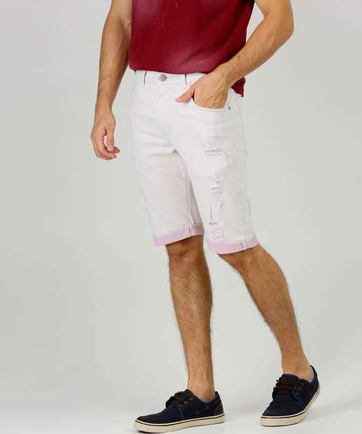 Image_Bermuda Masculina Jeans Destroyed