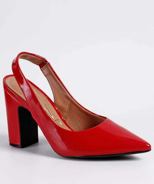 fa51e41126 Scarpin Feminino Chanel Verniz Vizzano 1285103