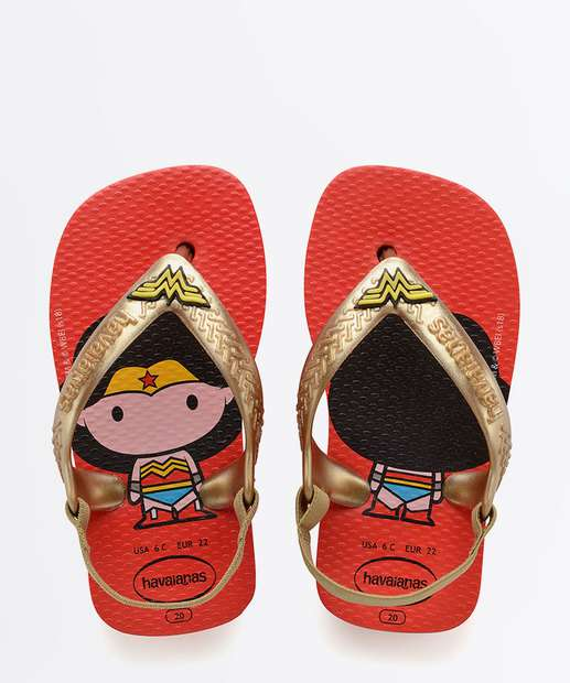 Image_Chinelo Infantil Mulher Maravilha Baby Heróis Havaianas 2162