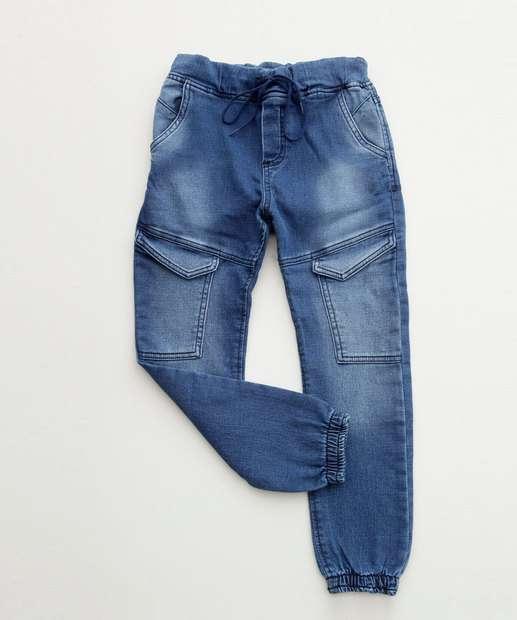 Image_Calça Infantil Jeans Jogger