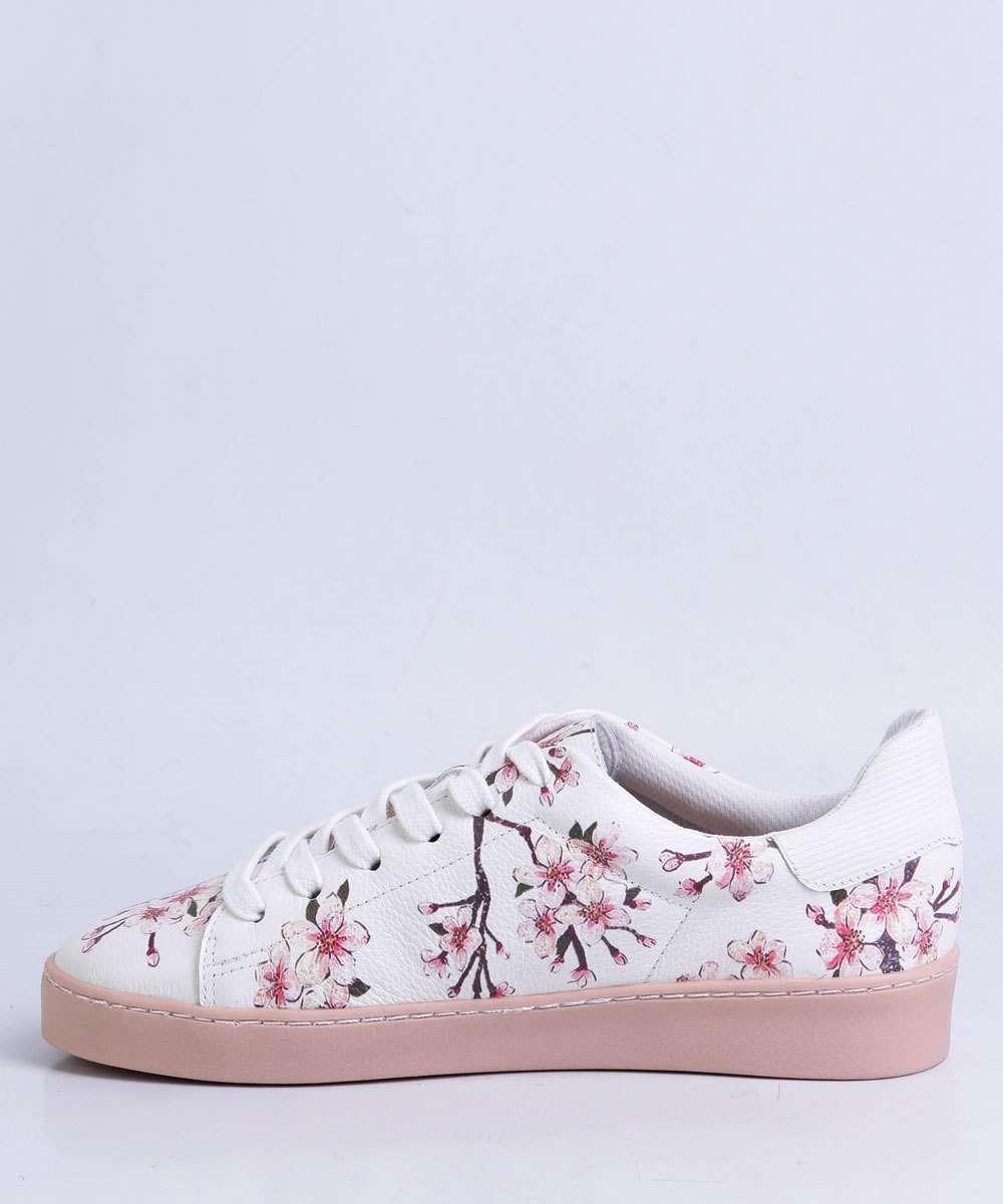 1275bf5448d Tênis Feminino Casual Floral Bottero 276505