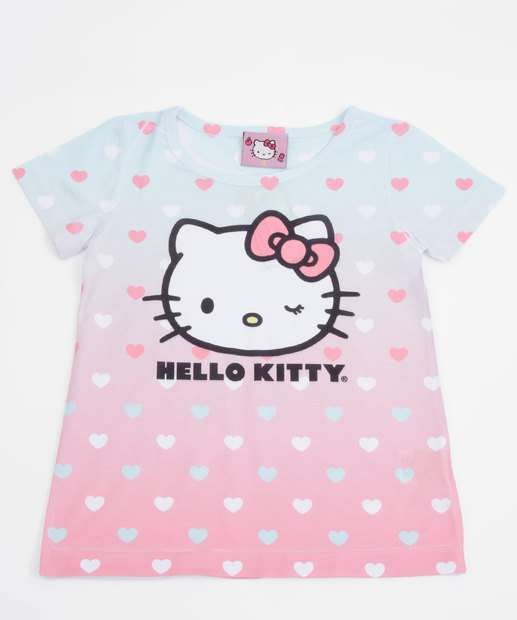 Image_Blusa Infantil Estampa Hello Kitty Sanrio