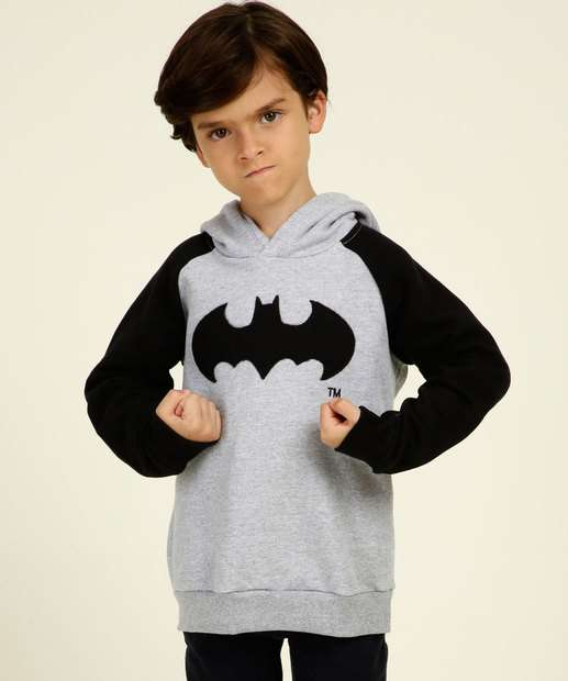 Image_Blusão Infantil Moletom Batman Capuz Liga da Justiça Tam 4 a 10