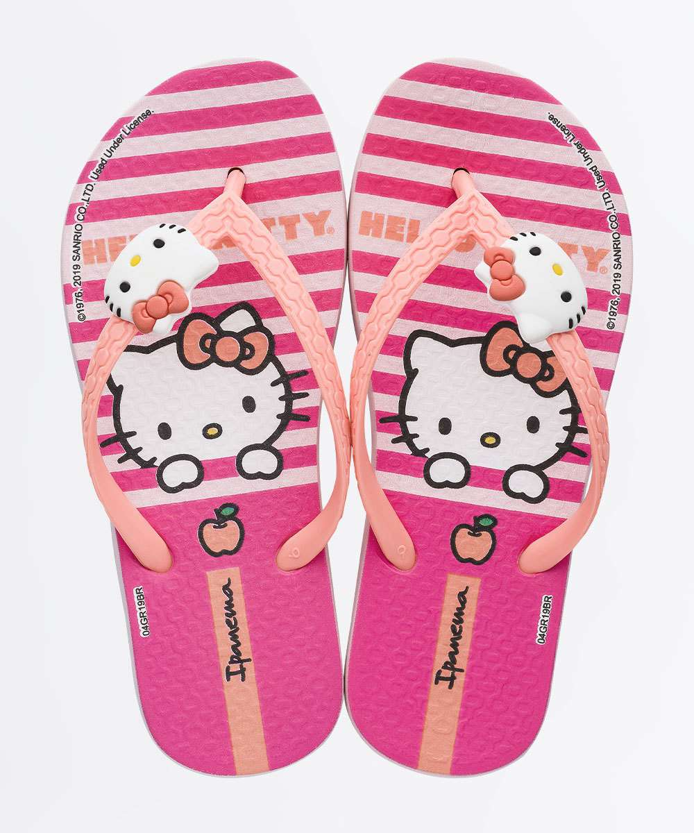Chinelo Infantil Estampa Hello Kitty Fashion Ipanema
