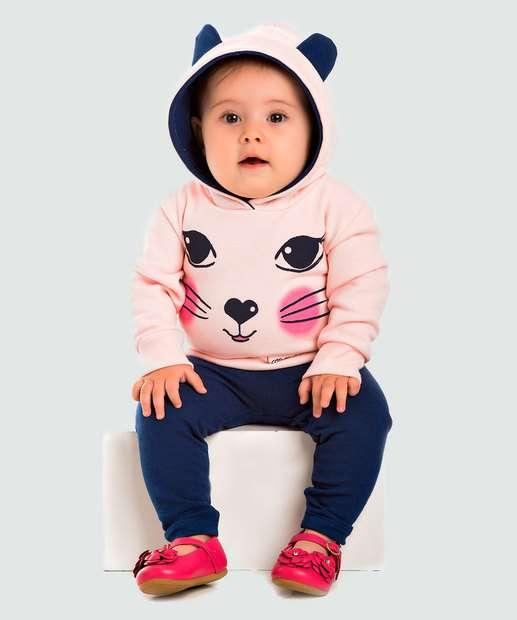 Image_Conjunto Infantil Bebê Flanelado Trenzinho