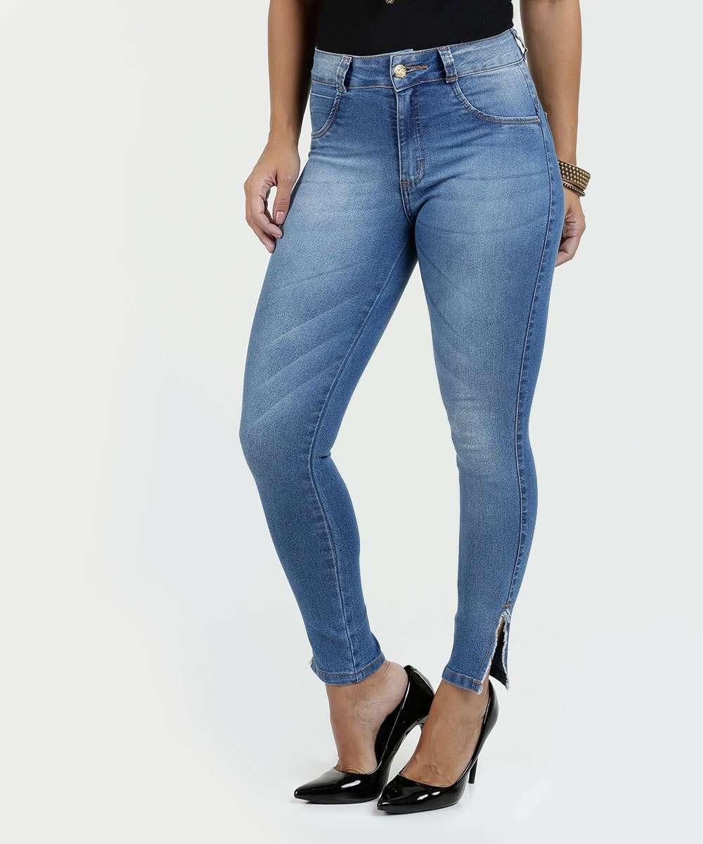 cdf8d1fc9 Calça Feminina Jeans Skinny Biotipo | Marisa