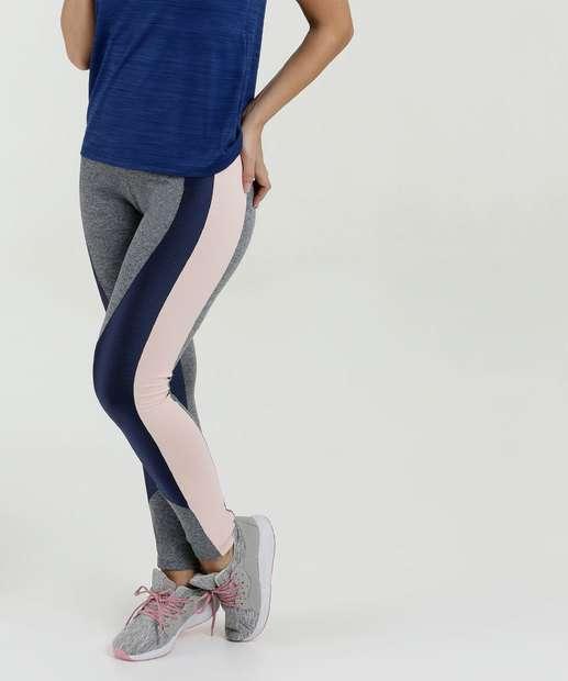 ae92f1645 Calça Feminina Legging Fitness Recorte Marisa