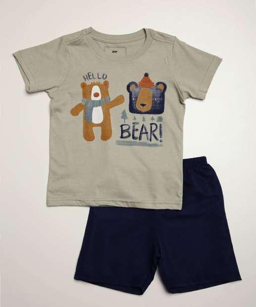 Image_Conjunto Infantil Estampa Urso MR Tam 1 a 4