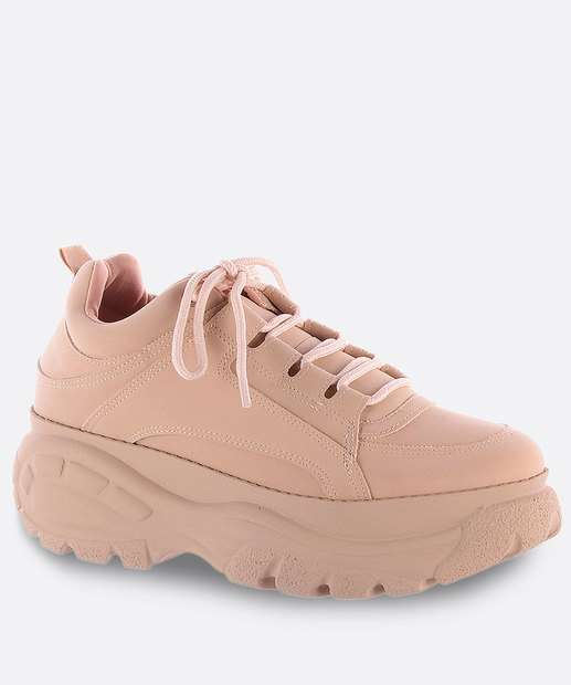 Image_Tênis Feminino Chunky Sneaker Flatform Nobuck Zatz