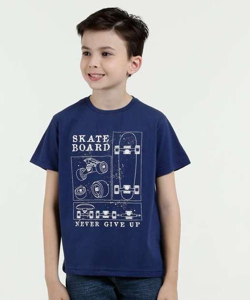 Image_Camiseta Infantil Estampa Manga Curta Mr