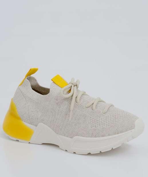 Image_Tênis Feminino Chunky Sneaker Recorte Bebecê