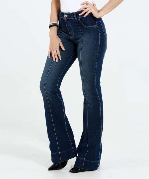 Image_Calça Feminina Flare Jeans Sawary
