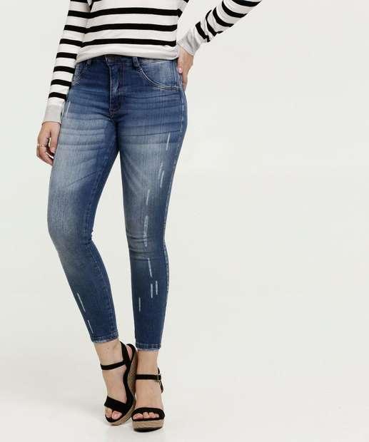 Image_Calça Jeans Skinny Puídos Feminina Biotipo