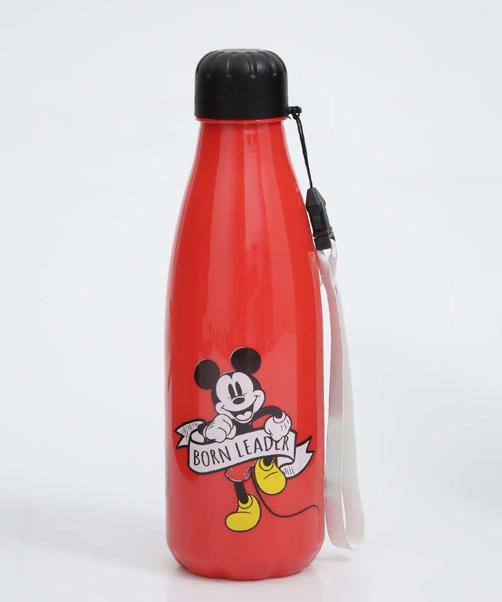 Garrafa Squeeze Feminina Estampa Mickey 600ML
