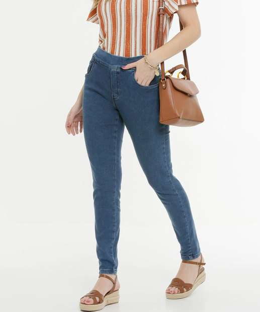 Image_Calça Feminina Skinny Bolsos Zune Jeans