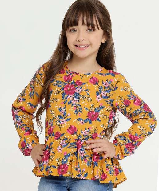 Image_Blusa Infantil Estampa Floral Manga Longa Marisa