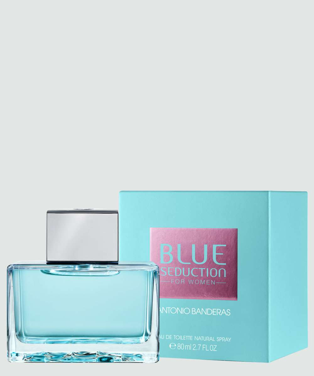 d3b4dae47 Perfume Feminino Antonio Banderas Blue Seduction - Eau de Toilette - 80ml