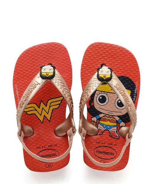 Image_Chinelo Infantil Mulher Maravilha Havaianas Baby Herois