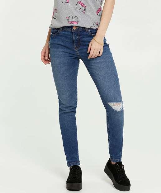 Image_Calça Jeans Destroyed Skinny Feminina Marisa
