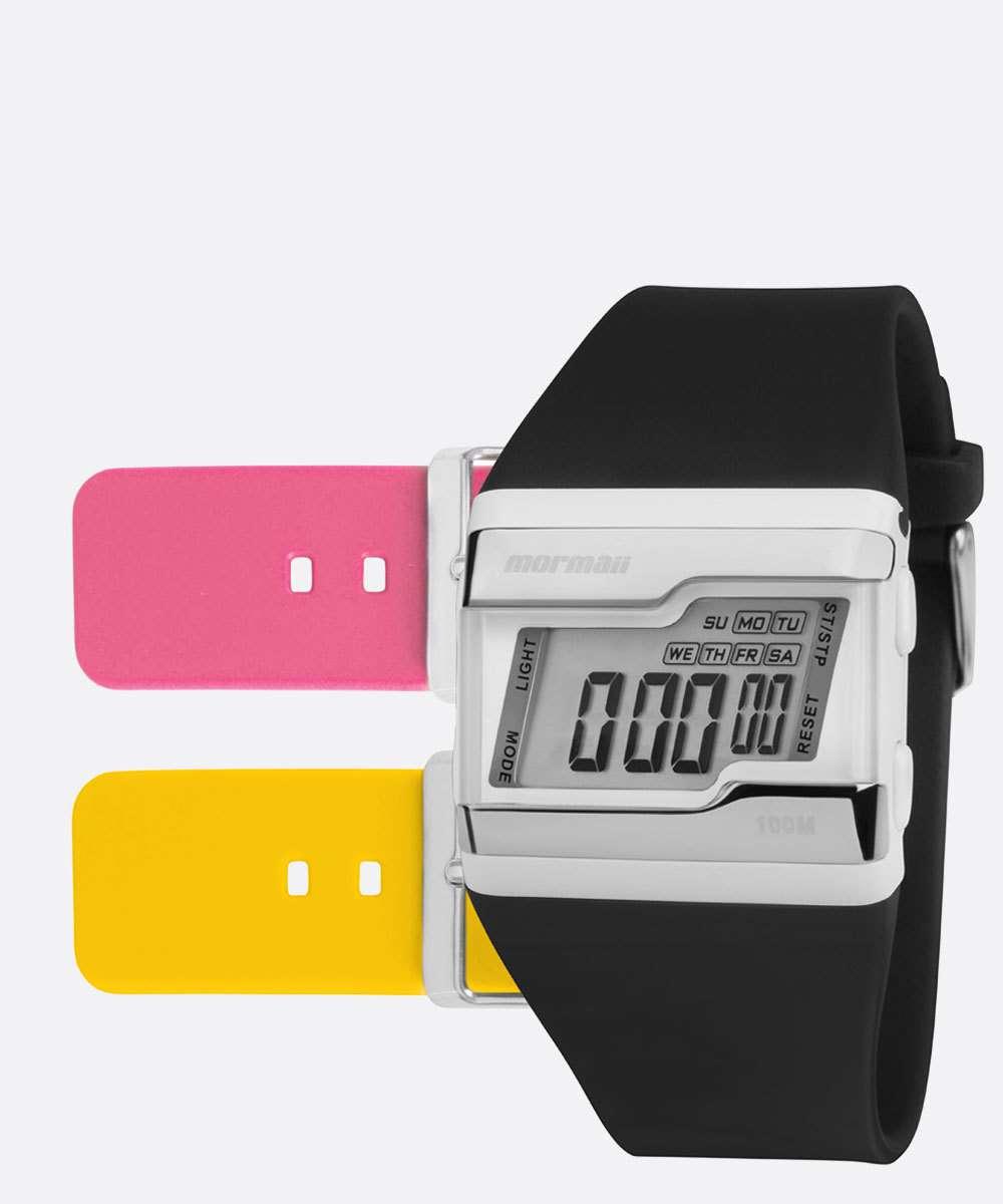 Kit Relógio Unissex Digital Mormaii FZT8T
