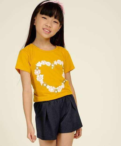 Image_Conjunto Infantil Estampa Floral Marisa Tam 4 a 10