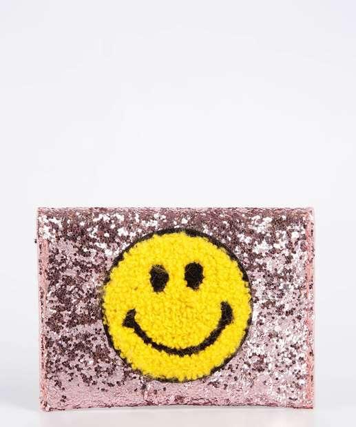 Image_Carteira Feminina Porta Cartão Smile Glitter Marisa