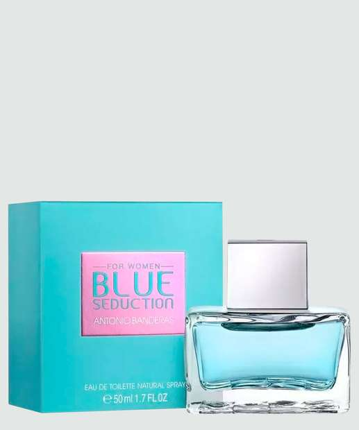 Image_Perfume Feminino Antonio Banderas Blue Seduction - Eau de Toilette 50ml
