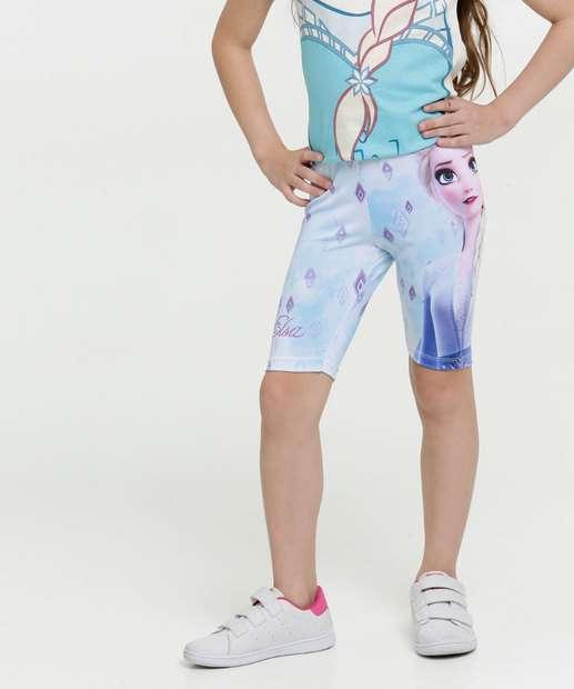 Image_Bermuda Infantil Ciclista Estampa Elsa Frozen