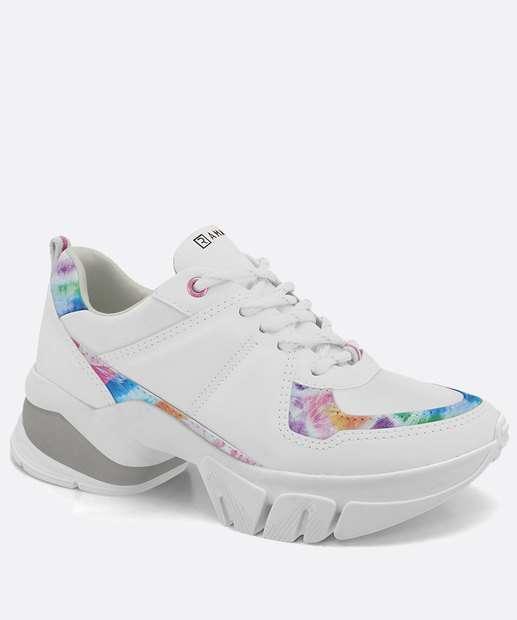Image_Tênis Feminino Sneaker Tratorado Estampado Ramarim