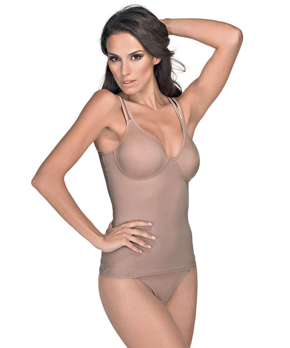 52a41107d Camisete Feminina Modeladora DeMillus | Marisa