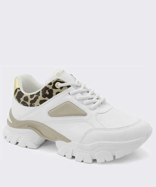 Image_Tênis Feminino Chunky Sneaker Animal Print Ramarim