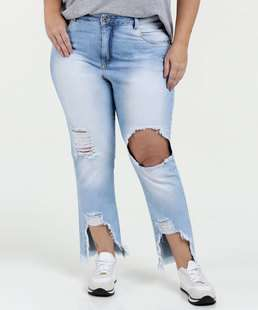 //www.marisa.com.br/cal%E7a%2Dfeminina%2Djeans%2Ddestroyed%2Dplus%2Dsize%2Drazon-jeans%20claro/p/10034401583