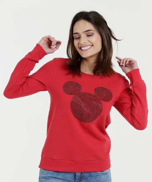 Image_Blusa Feminina Moletinho Mickey Disney