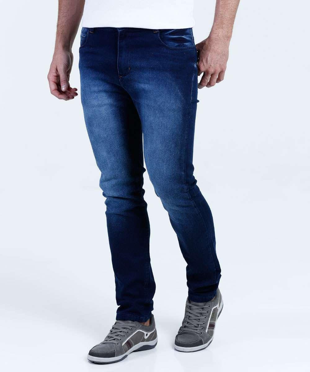 ed7c1c78a Calça Masculina Jeans Slim Mix Jeans