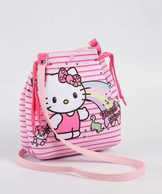 Image_Bolsa Infantil Transversal Listrada Hello Kitty