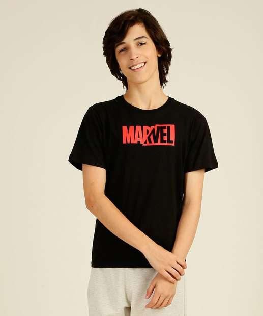 Image_Camiseta Juvenil Manga Curta Marvel Tam 10 a 16