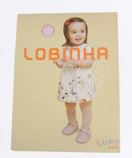 Image_Meia Calça Infantil Bebê Fio 20 Lobinha Lupo